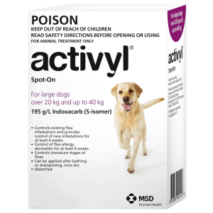 Activyl Medium Dogs - Pet Care Supplies Blog